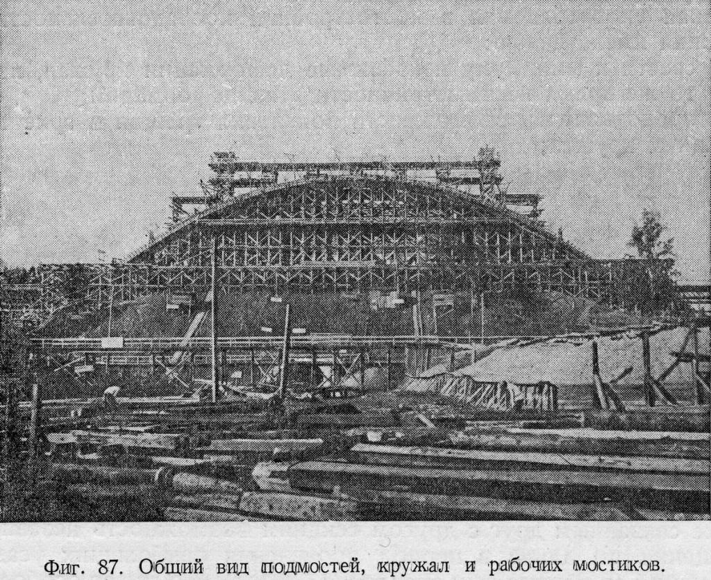 1935 Строительство Химкинского железнодорожного моста