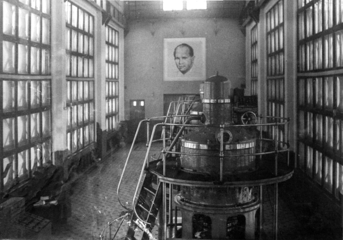 Машинный зал насосной станции №183