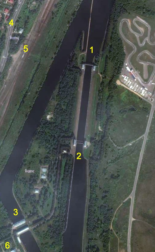 02 Спутниковая карта