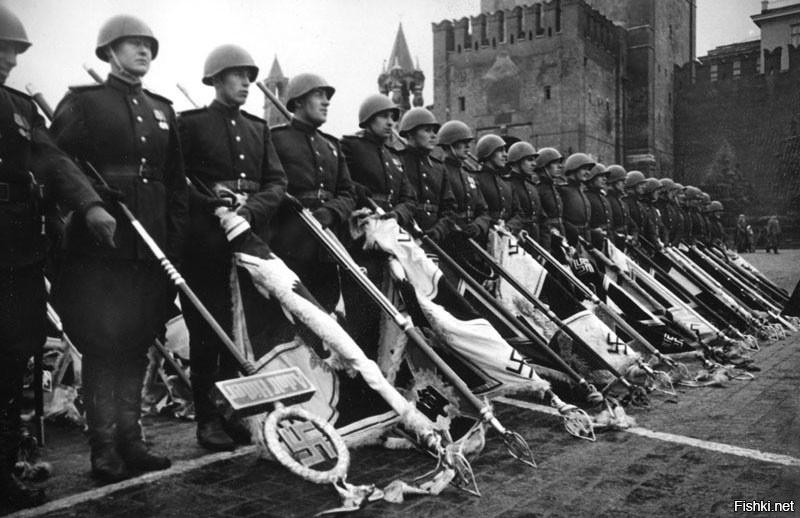 1945-06-24 Парад Победы. Красная Площадь, Москва.