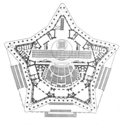 Театр Советской армии план
