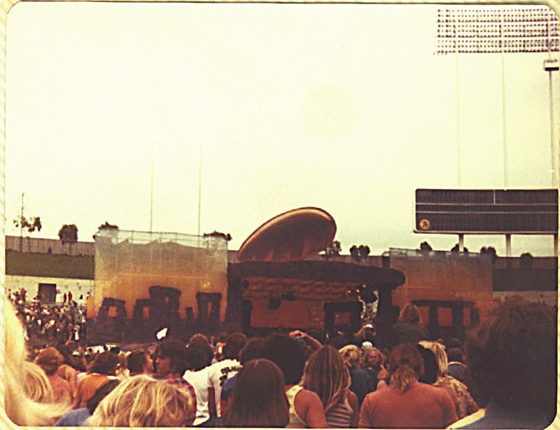 Led Zeppelin, Oakland California. Foto by Steven Crozier 24 July 1977 06