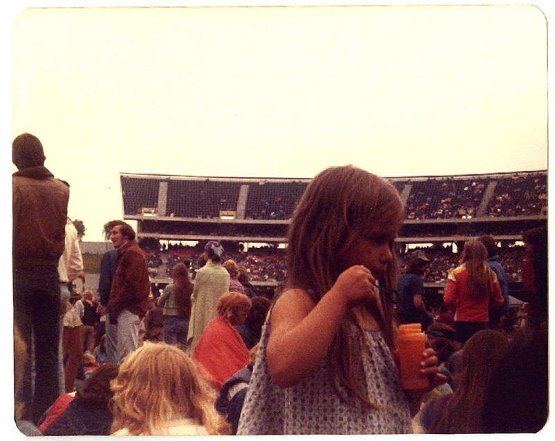 Led Zeppelin, Oakland California. Foto by Steven Crozier 24 July 1977 10