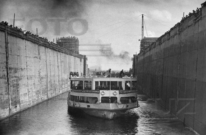 24 апреля 1937 Шлюз №1