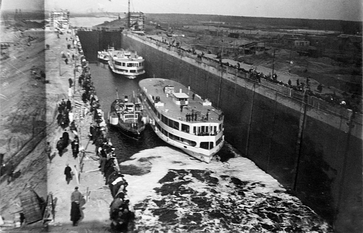 10 24 апреля 1937 Шлюз №1
