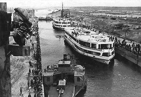 Georgi Zelma Kanal Moskva - Volga The Moscow - Volga Canal, 1937.