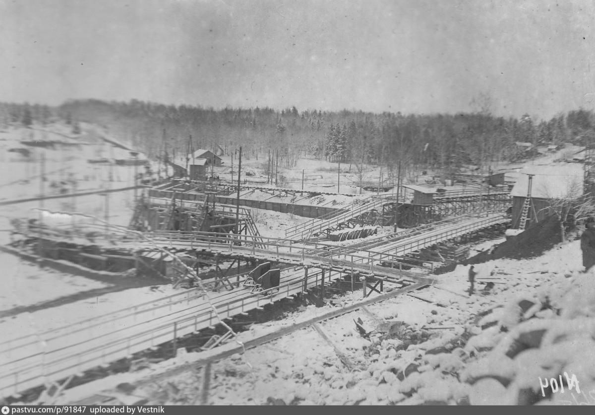 1934-1935 Строительная площадка