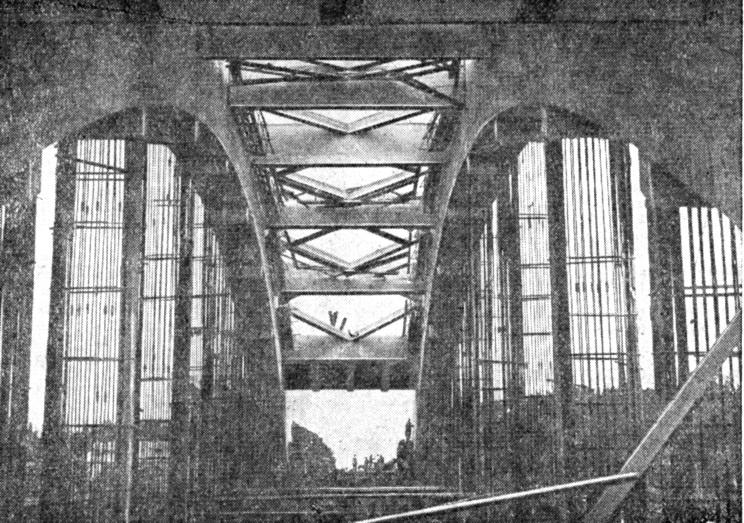 1935 осень Арка после уборки кружал и подмостей