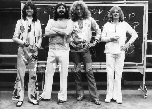 Led Zeppelin. Foto by Terry O Neill 1977 01