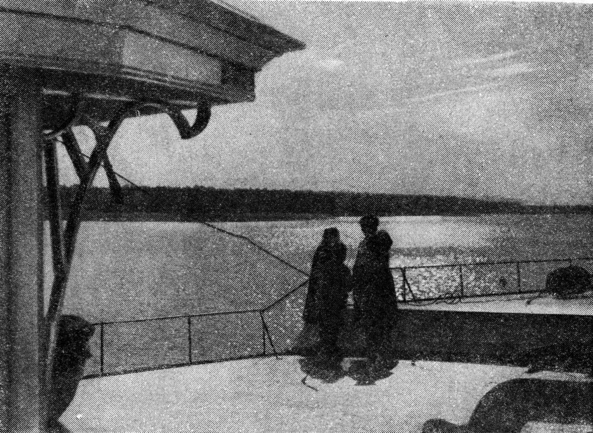 35 2 мая 1937 Водораздельные водохранилища Журнал 'Огонёк' 1937 №16-17 (20 июня). Фото П.Трошкина