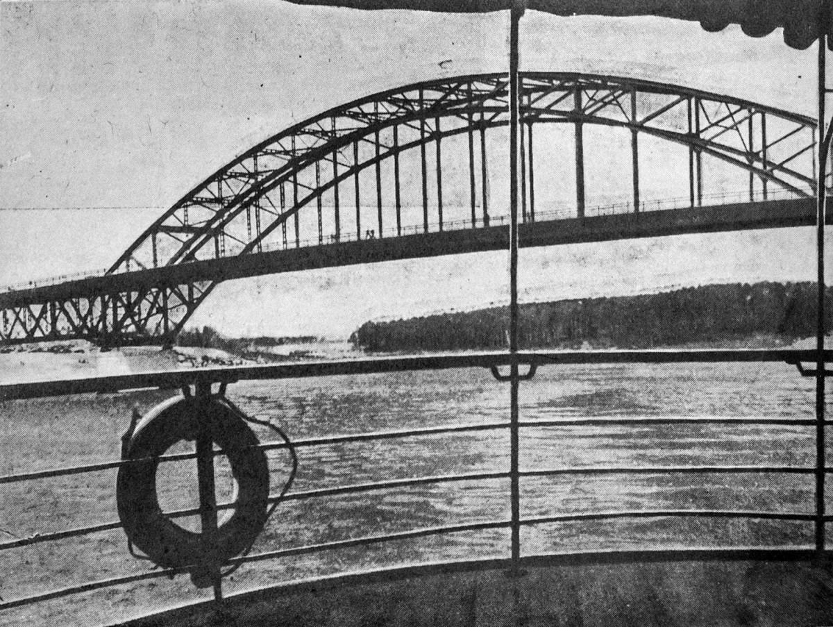 37-2 2 мая 1937 Мост Ленинградского шоссе