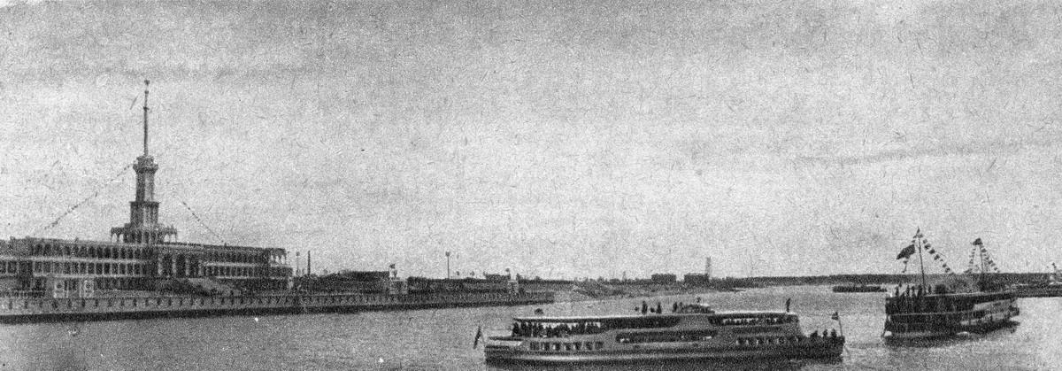 41 2 мая 1937 Химкинский речной вокзал Журнал 'Техника-Молодежи' 1937 №6