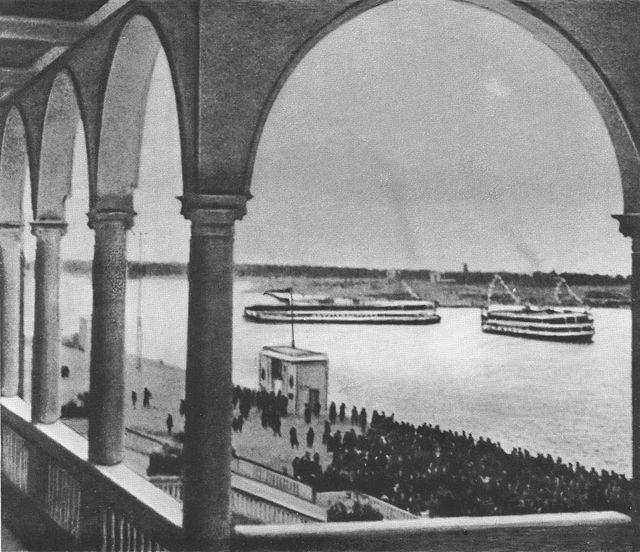 44 2 мая 1937 Химкинский речной вокзал