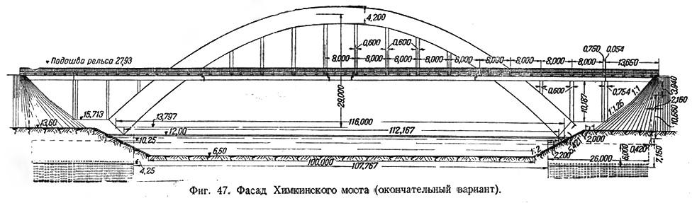 Фасад Химкинского моста