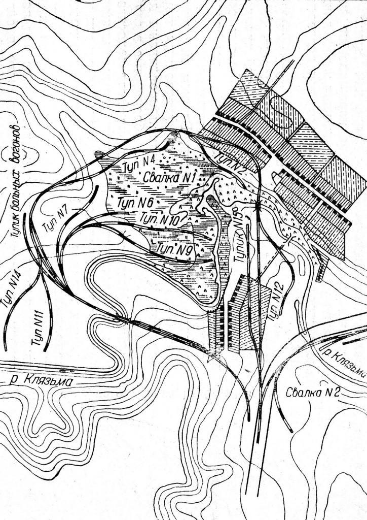 13 План жд кольца на 3 участке ГВ 1935