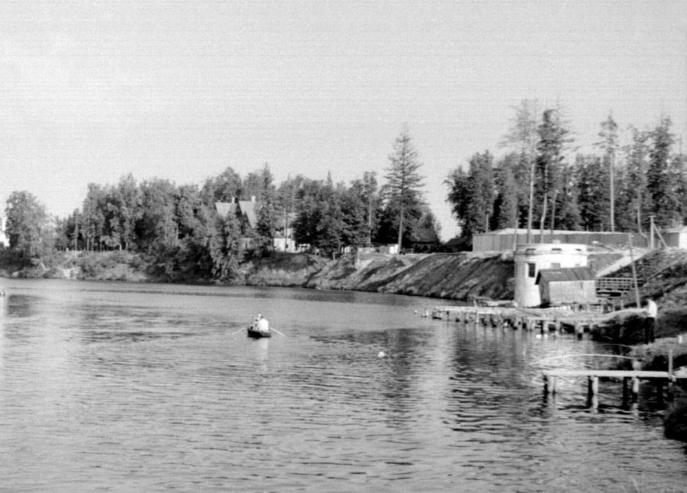 25 Пристань гранитного завода 1957