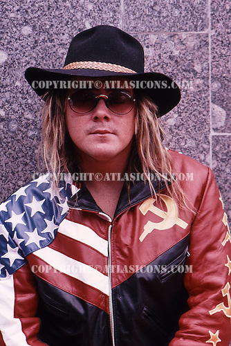 Jason Bonham ;Moscow Music Peace Festival; August 12, 13, 1989; Photo Credit: Eddie Malluk/Atlas Icons.com