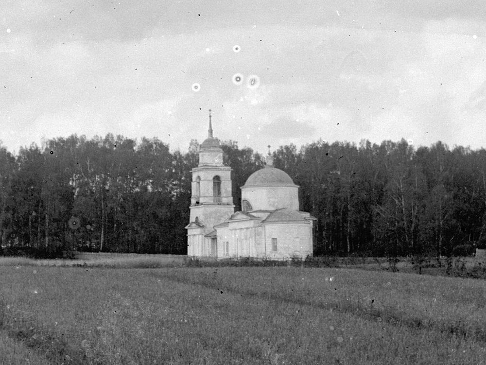 1911 год. Ивакино, церковь. Фото В.В.Кузнецова-старшего