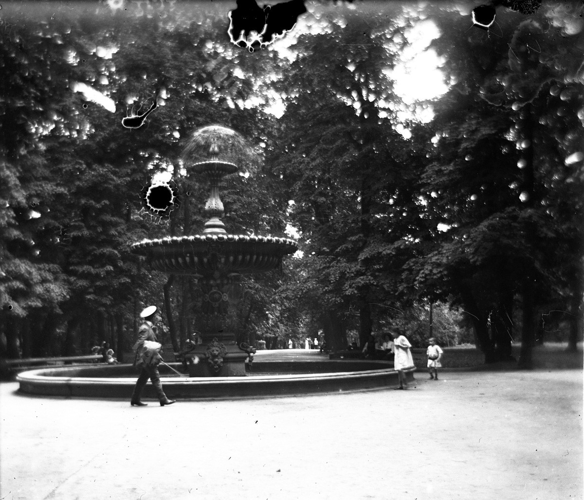 Киев. Мариинский парк. Фонтан сохранился до сегодняшних дней