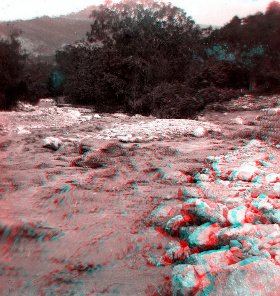 Стерео - горная река, перекат
