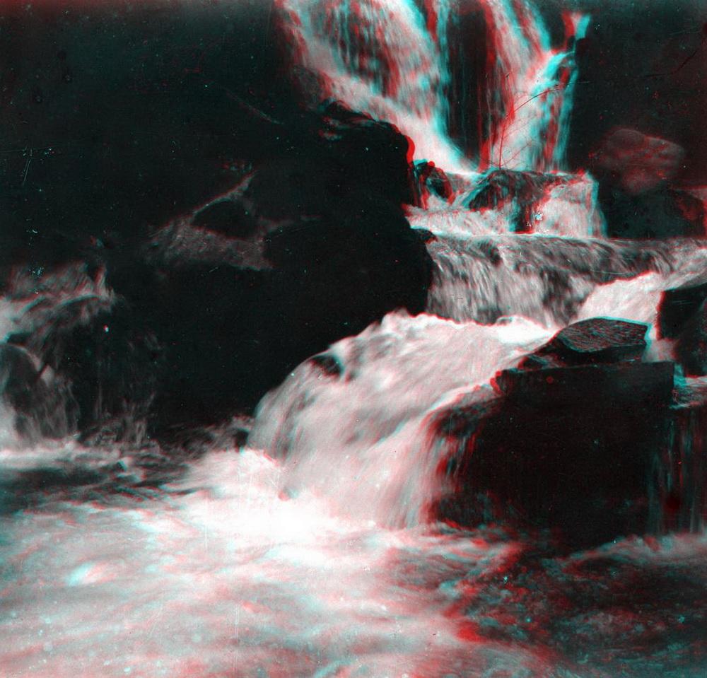 Стерео - горная река, водопад 1