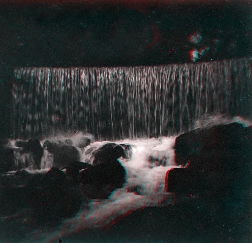 Стерео - горная река, водопад 2