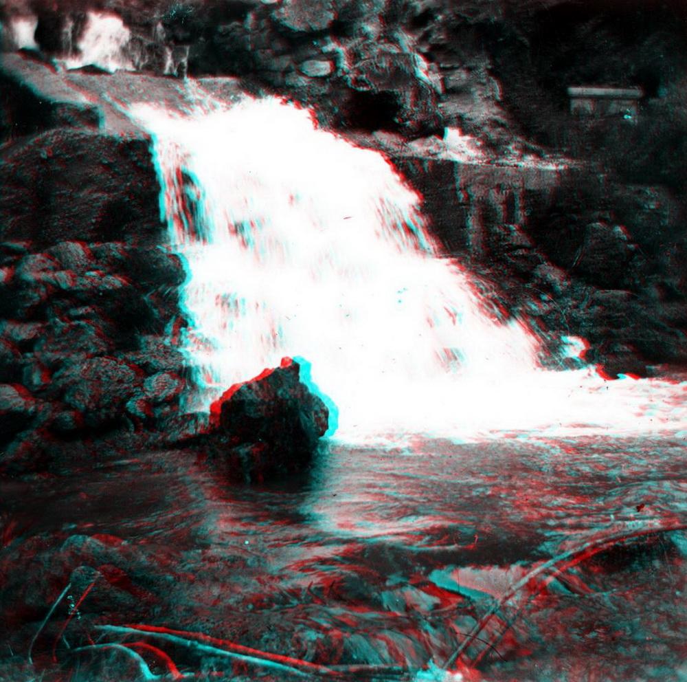Стерео - горная река, водопад 3