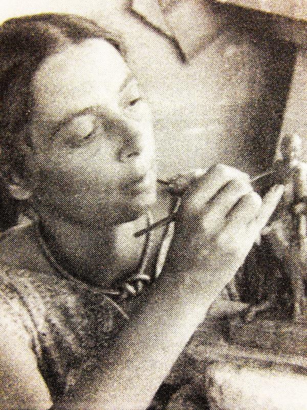 Данько за работой. Фотография 1930-х годов