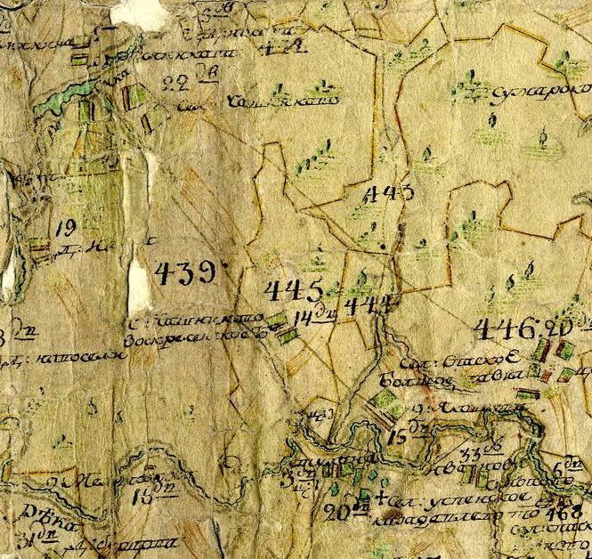1778-1797 План генерального межевания