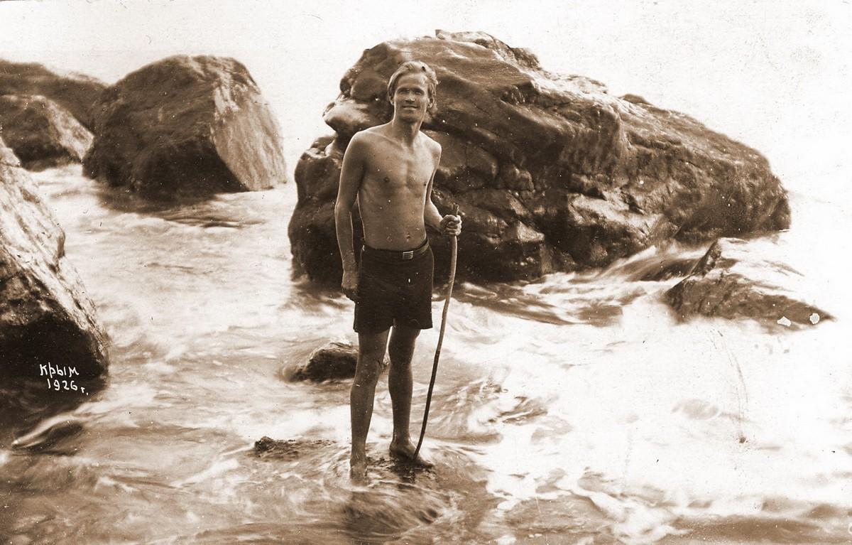 1926 Ёлкин в Крыму