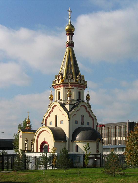 2006 Новый храм Воскреcения Христова. Фото Юрия Красильникова