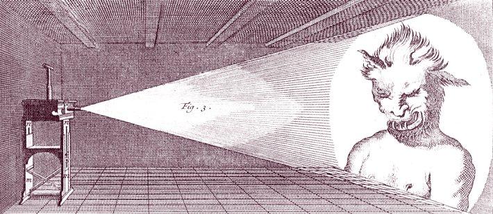 Диапроектор на керосиновом ходу - 2