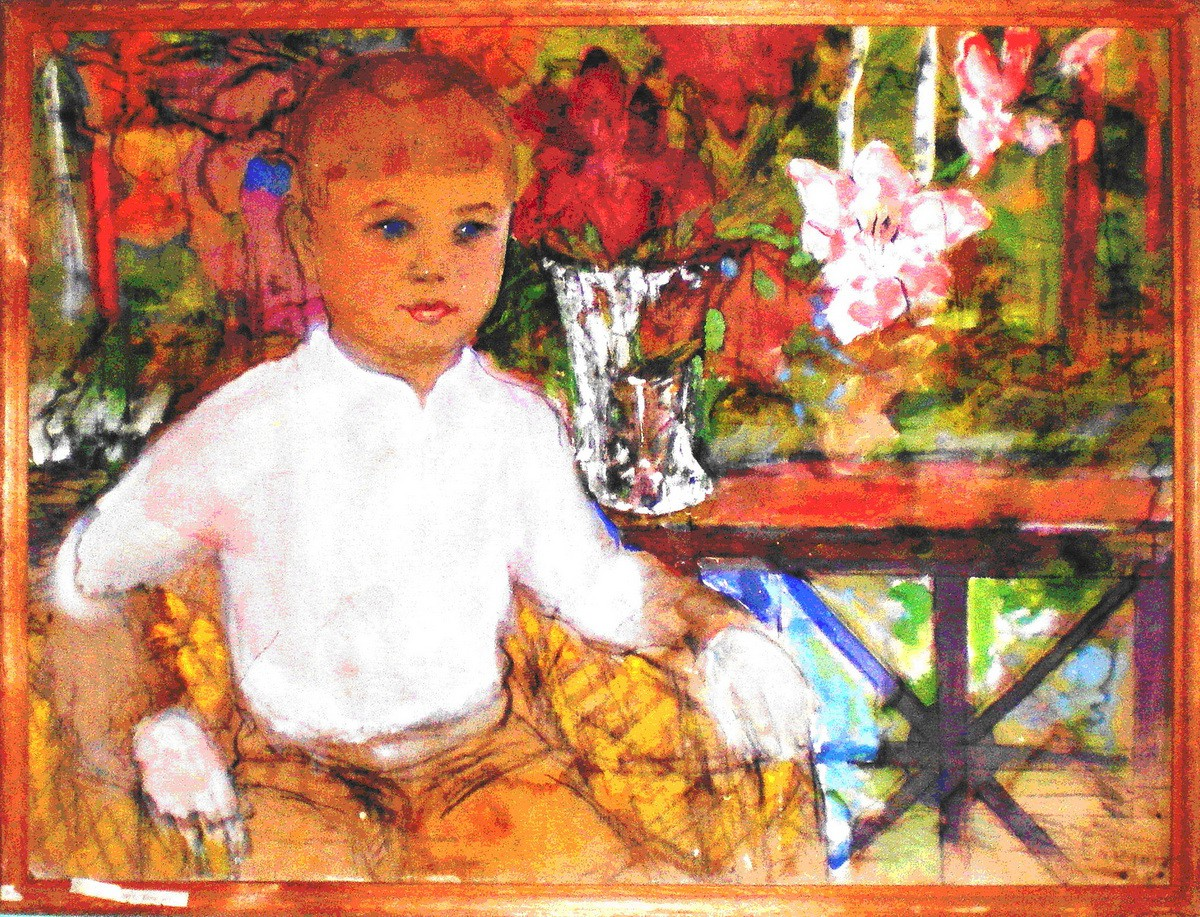 Ёлкин Портрет внука Димы