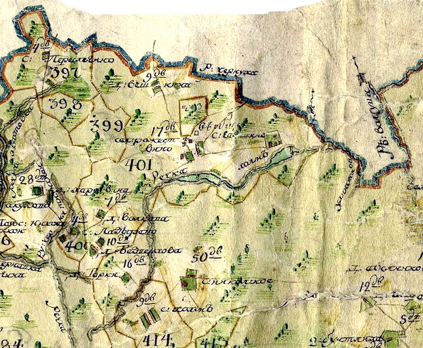 1778-1796 Воскресенский Рождествено