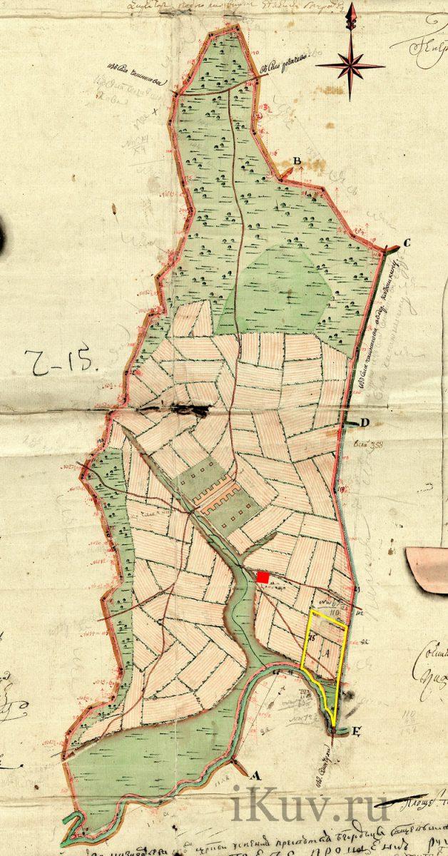 1766 Чашниково сельцо с границми