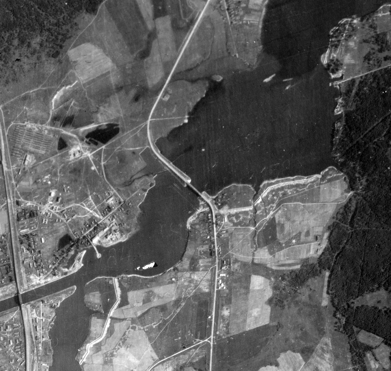 Немецкая аэрофотосъёмка от 18 июля 1942 года.