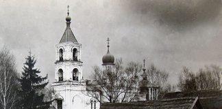Храм Успения Пресвятой Богородицы в Трахонеево. 1908 год.