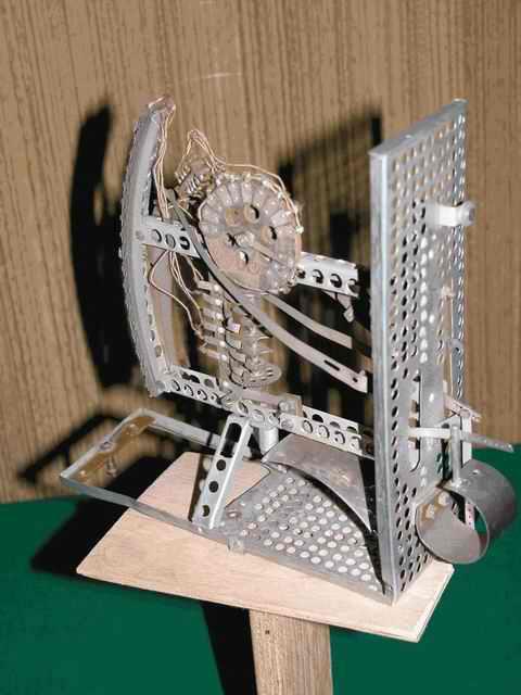 Механическая часть конструкции первого радиозонда