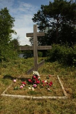 Захоронение погибших заключённых