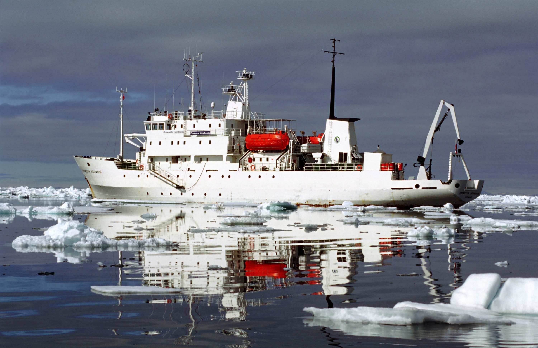 """Морское экспедиционное исследовательское судно """"Профессор Молчанов"""" с ледовым усилением"""