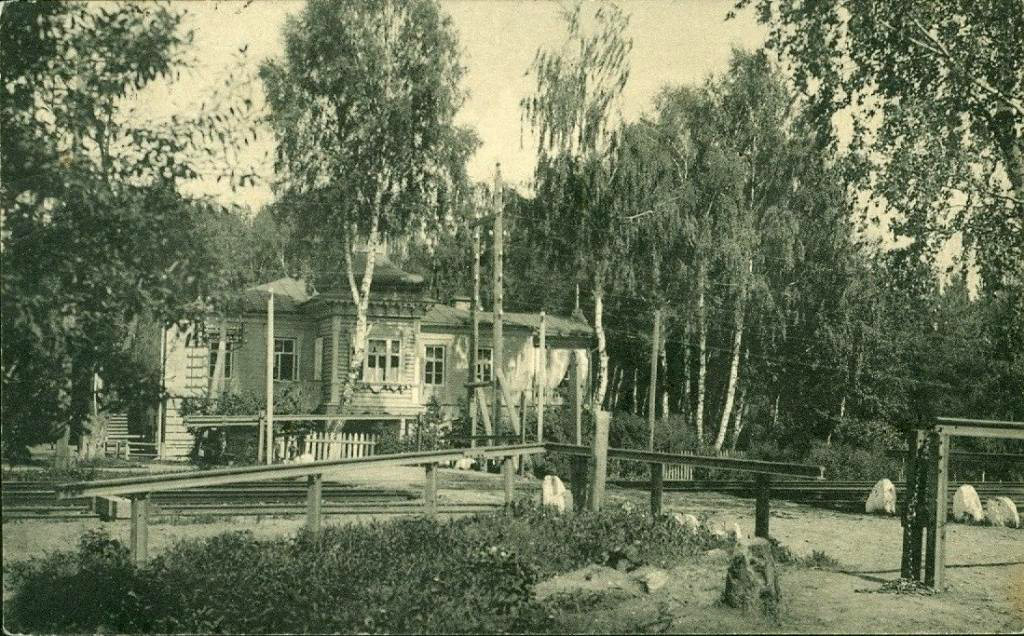Открытка Химки. Почтовое отделение. №115 Изд. А.А.Горожанкина, Москва (до 1911 года)