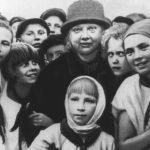 Крупская среди краснополянских пионеров 1