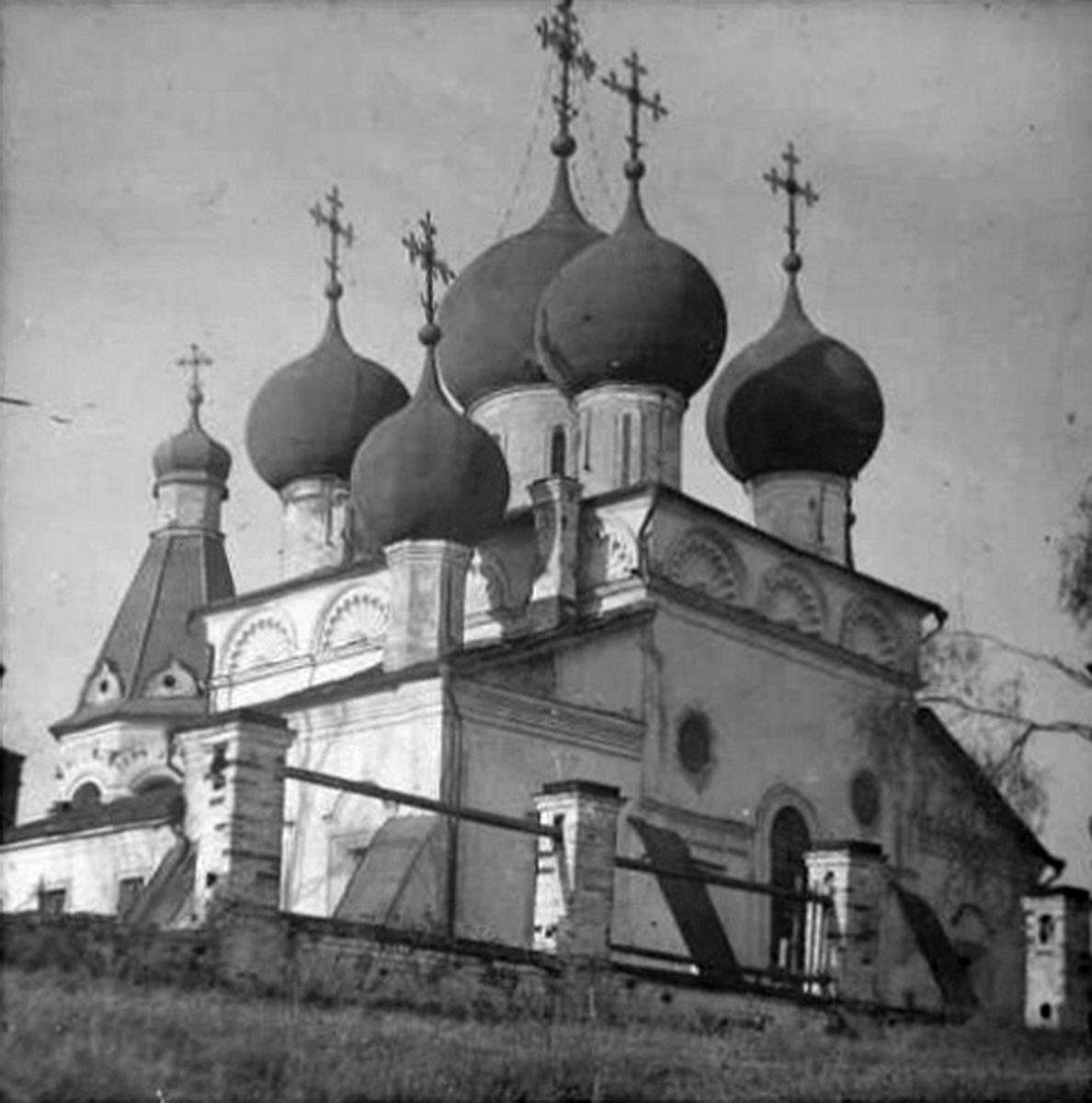 1920-1930 годы. Чашниково. Троицкая церковь. Фото С.А.Торопова