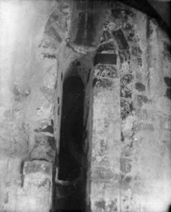1920-1930 годы. Чашниково. Троицкая церковь. Окно купола барабана. Фото С.А.Торопова