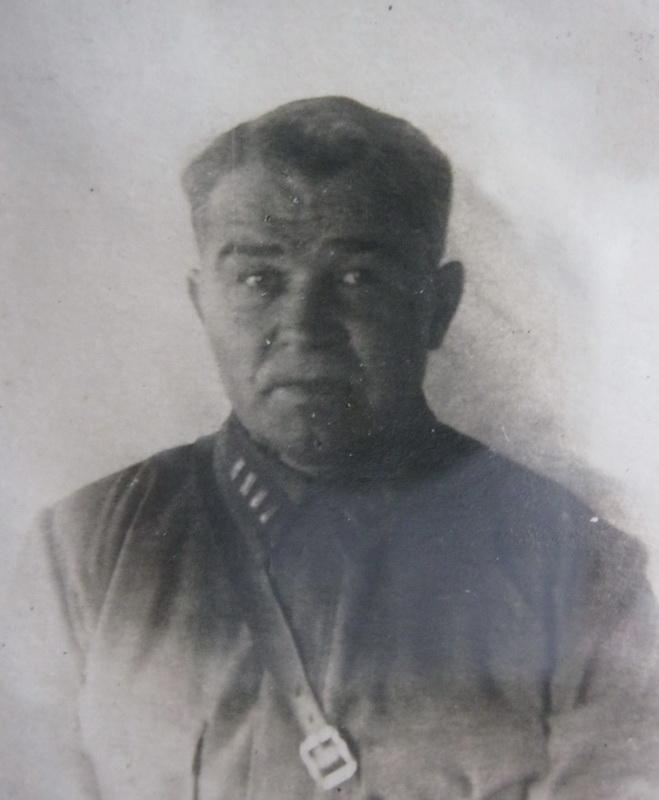 Ф.М.Савелов в 1940 году. Фото из Ленино-Снегиревского военно-исторического музея (Истринский р-н)