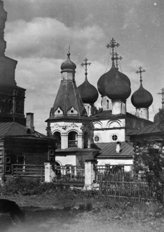 Середина 20 века. Чашниково. Троицкая церковь