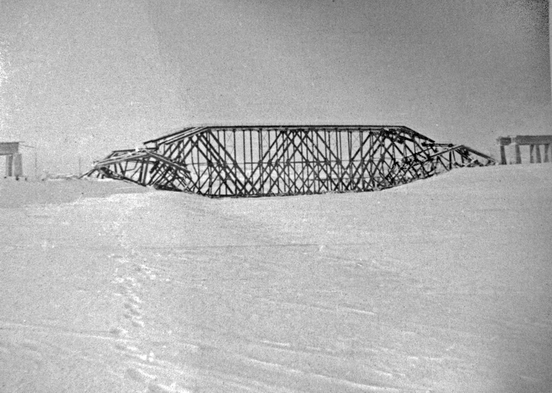 Фото зимы 1941/1942 годов.