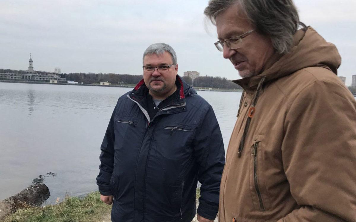 Сергей Гаев (слева) и Игорь Кувырков. Фото: Екатерины Фоминой