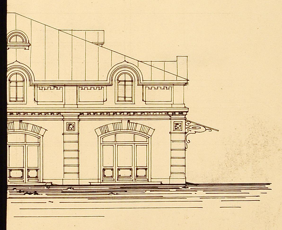 Фрагмент фасада неизвестного здания