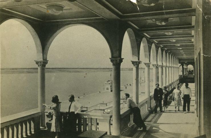 Химки. Северный порт. Фото-фабрика 'Турист' ~1937 тир.20000